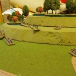 Forces Begin to Face-Off on Lobosch Hill
